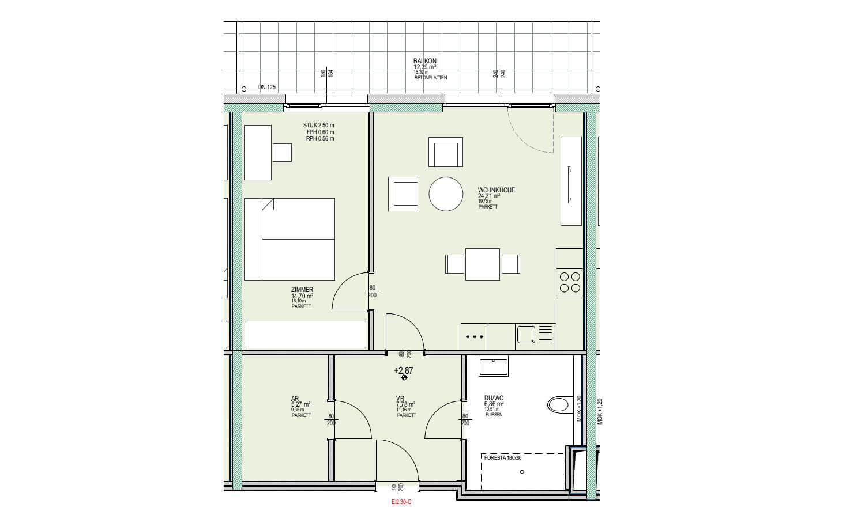 Wohnungsgrundriss JPEG